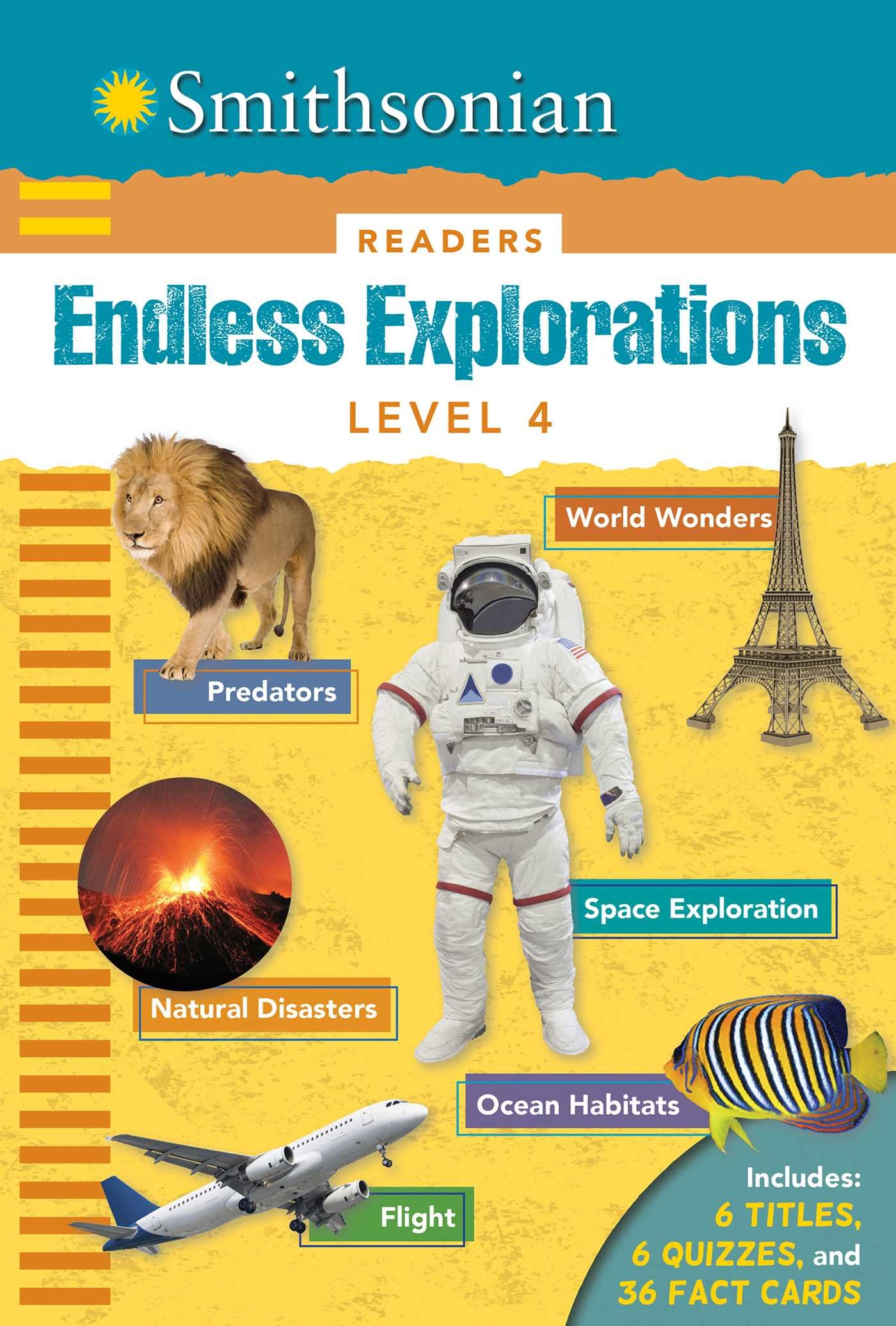 Smithsonian Readers: Endless Explorations Level 4 (Smithsonian Leveled Readers) by Silver Dolphin Books