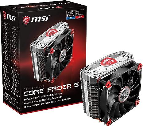 MSI Core Frozr S - Ventilador de CPU: Amazon.es: Informática
