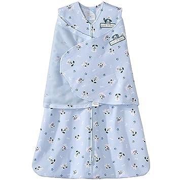 Amazon.com: Halo SleepSack 100% algodón Swaddle, Azul(Blue ...