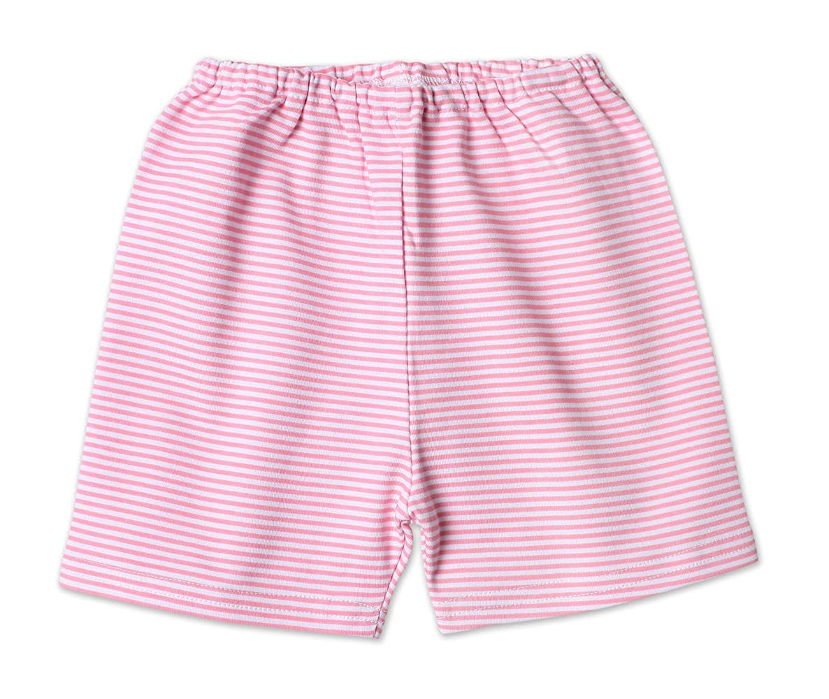 Zutano Baby Girls Candy Stripe Short