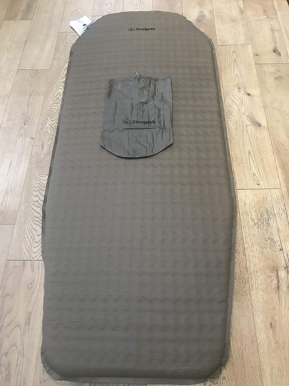 SnugPak Travelite Self Inflating Half Length Sleep Mat Olive
