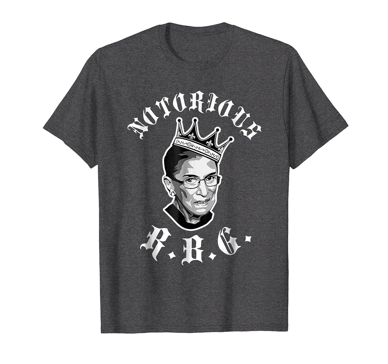 Funny Ruth Bader Ginsberg T-shirt - NOTORIOUS RBG shirt-ln