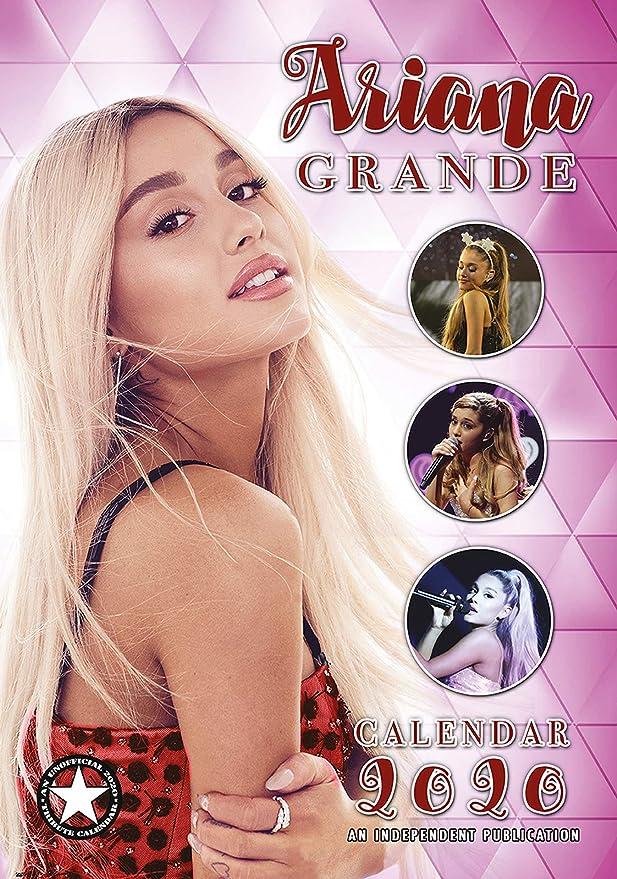 Ariana Grande Calendario 2020 + llavero Ariana Grande ...