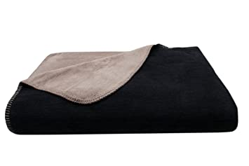 Zollner Kuscheldecke Wolldecke Schwarz Fango Weitere Verfugbar