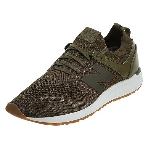 New Balance Zapatillas 247 Lifestyle Verde/Blanco/Caramelo: Amazon.es: Zapatos y complementos