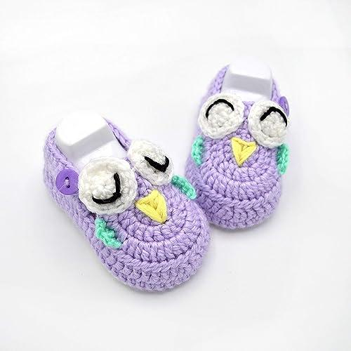 Amazon.com: Crochet Baby Shoes - Baby