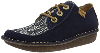 Clarks Womens Funny Dream Derby Amazoncouk Shoes Bags