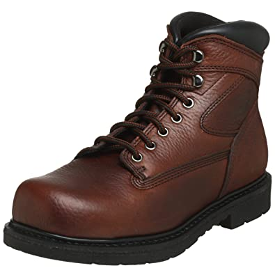 Amazon.com | WORX by Red Wing Shoes Men's 5525 Oblique Toe Steel ...