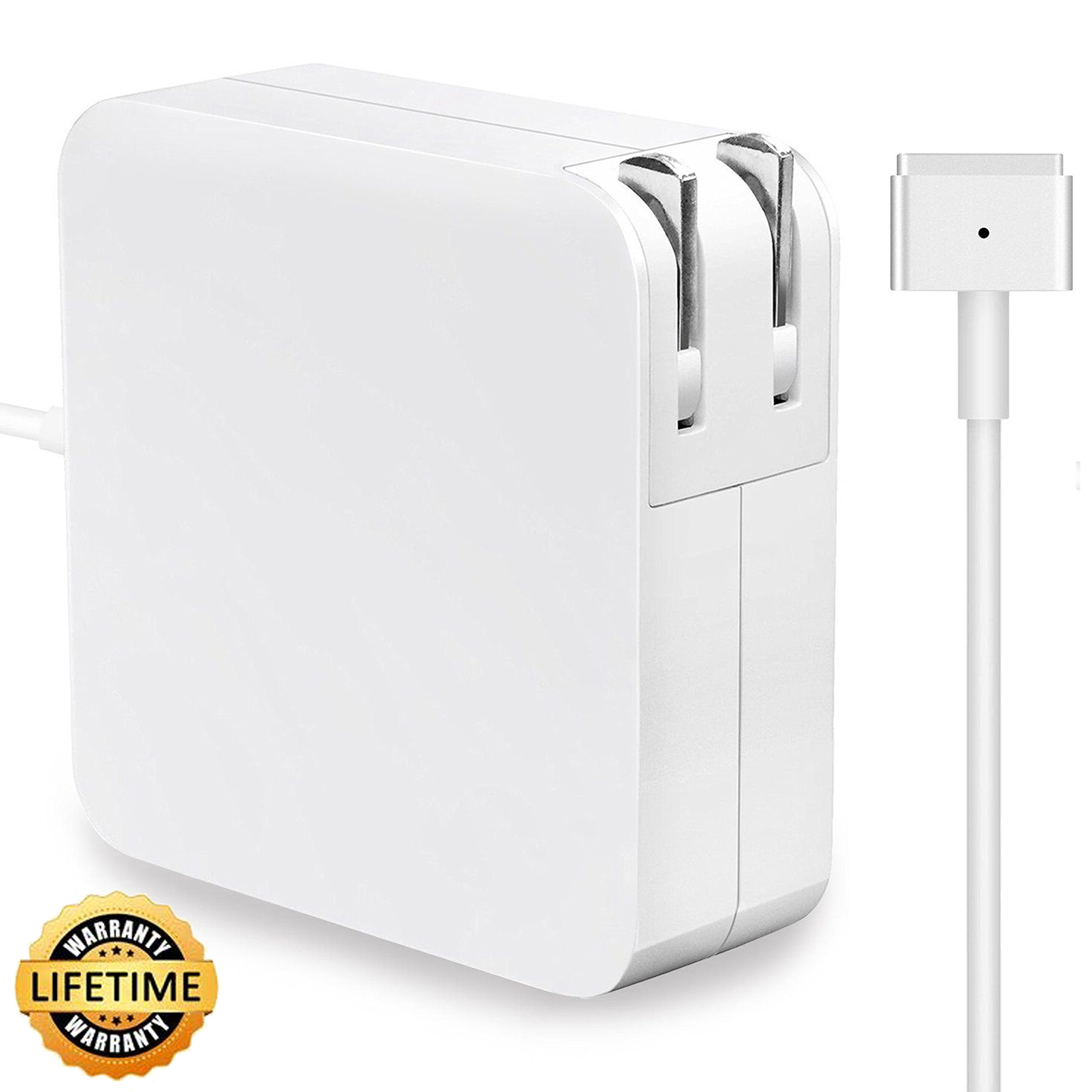 MacBook pro Charger, and Compatible with 45W, Aonear 60W Magsafe 2 T-Tip Replacement Adapter for 13 inch MacBook Pro Charger- After Late 2012 by aonear (Image #1)