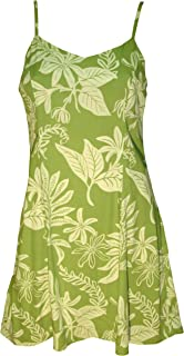 product image for Paradise Found Womens Tiare Princess Seam Mini Sundress in Olive Sage - XS
