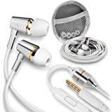 Atmosure Anti-Radiation Air Tube Headphones for 99% EMF Reduction, Safe, Radiation-Free Earbuds with Microphone, Cell…