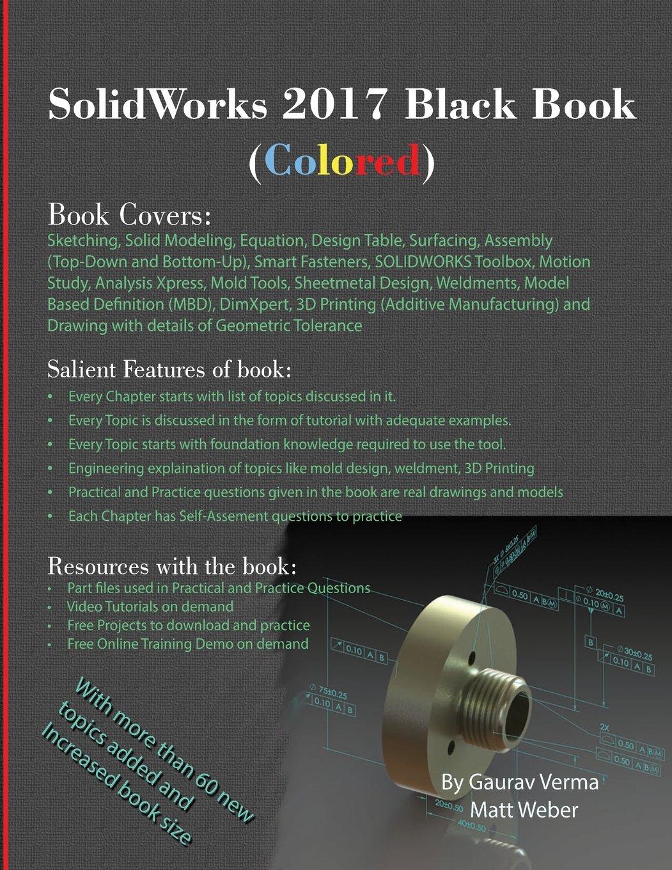Solidworks 2017 Black Book Colored Gaurav Verma Matt Weber