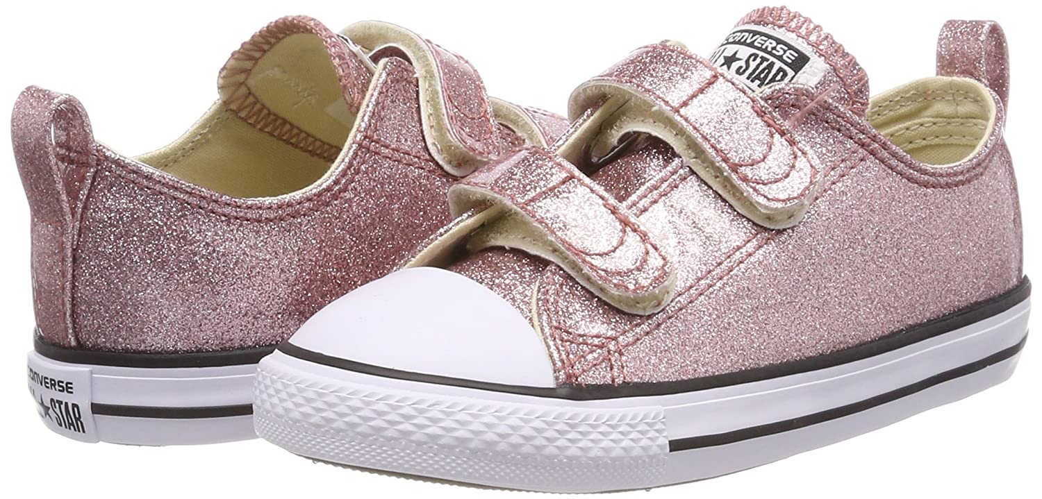Converse Kids Chuck Taylor All Star 2v Low Top Sneaker Converse Kids/' Chuck Taylor All Star 2v Low Top Sneaker 7V603