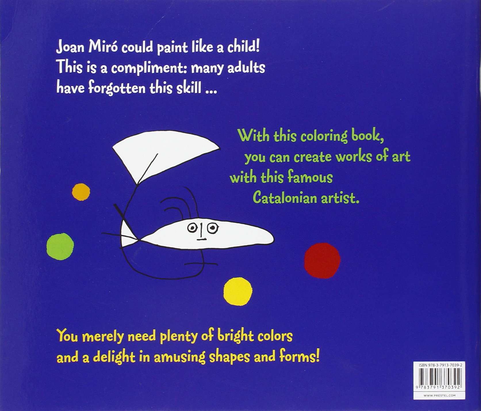 The color-play coloring book moma - Coloring Book Joan Miro Annette Roeder 9783791370392 Amazon Com Books