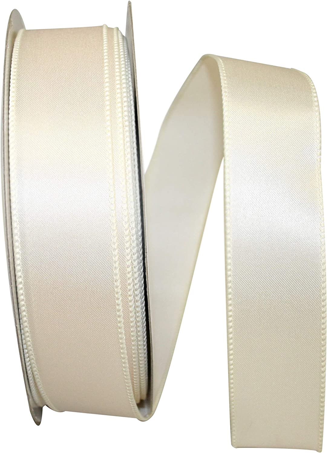 Emerald Green Reliant Ribbon 92575W-510-09K Satin Value Wired Edge Ribbon 1-1//2 Inch X 50 Yards
