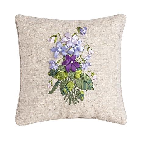 Amazon.com: C&F Home - Almohada de arte, 6.3 x 6.3 in, color ...