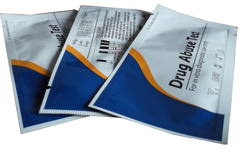10 x cocaína drogas Kit de prueba de análisis de orina/Pruebas: Amazon.es: Salud y cuidado personal