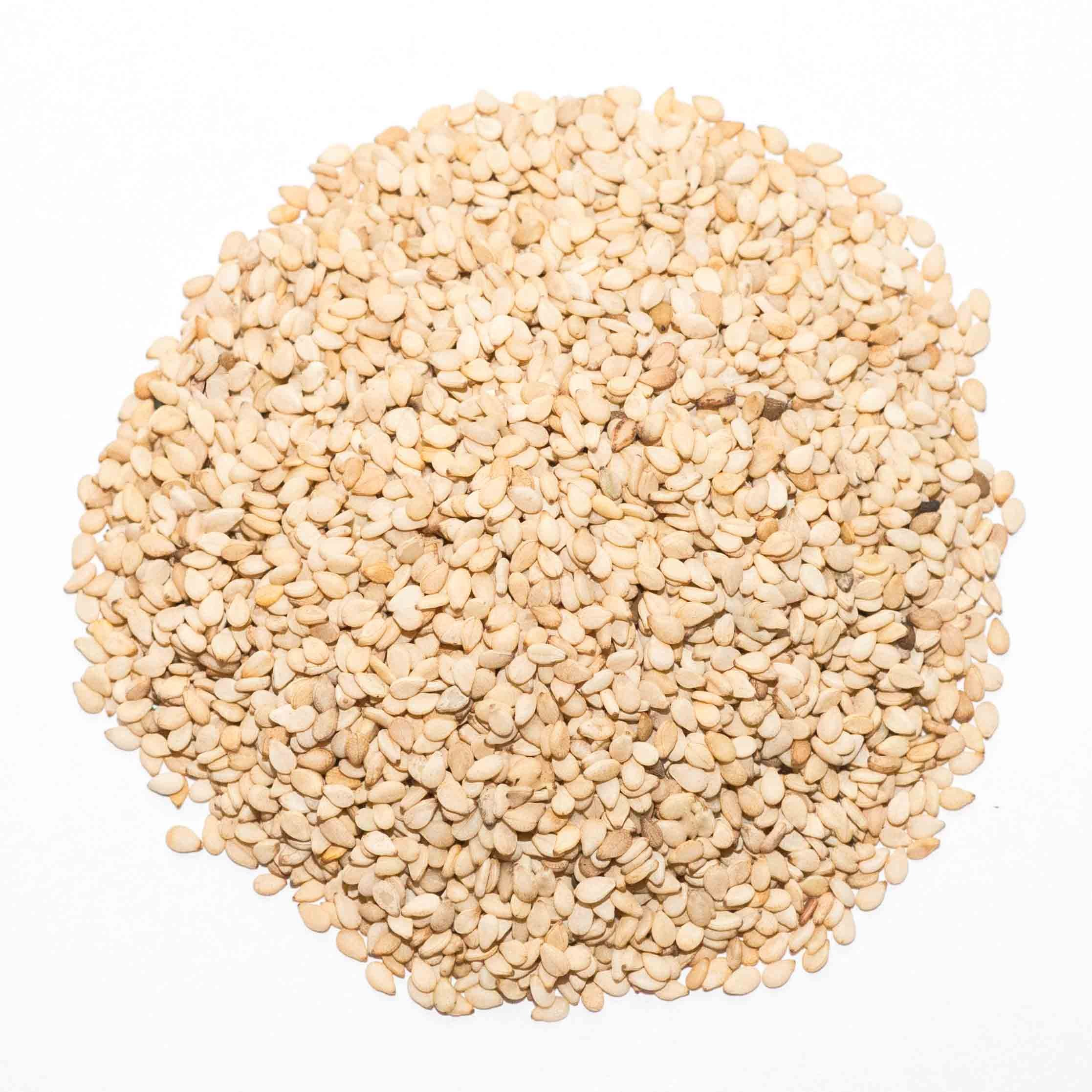 Bulk Seeds Organic Natural Sesame Raw - 25 Lb. by Bulk Seeds