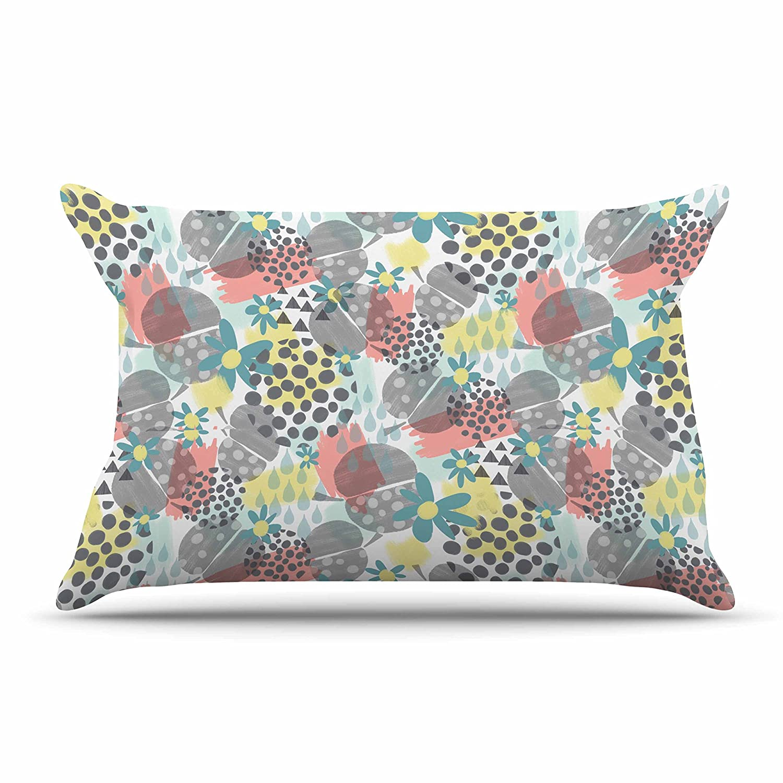 30 x 20 Pillow Sham Drops /& Blooms Multicolor Pink Digital Kess InHouse Melissa Armstrong Apples