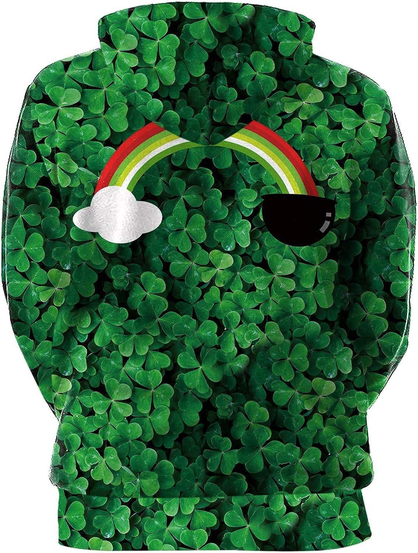 BesserBay Adult Unisex St Patricks Day Funny Sweatshirt Irish Long Sleeve Shirt for Paddys Day