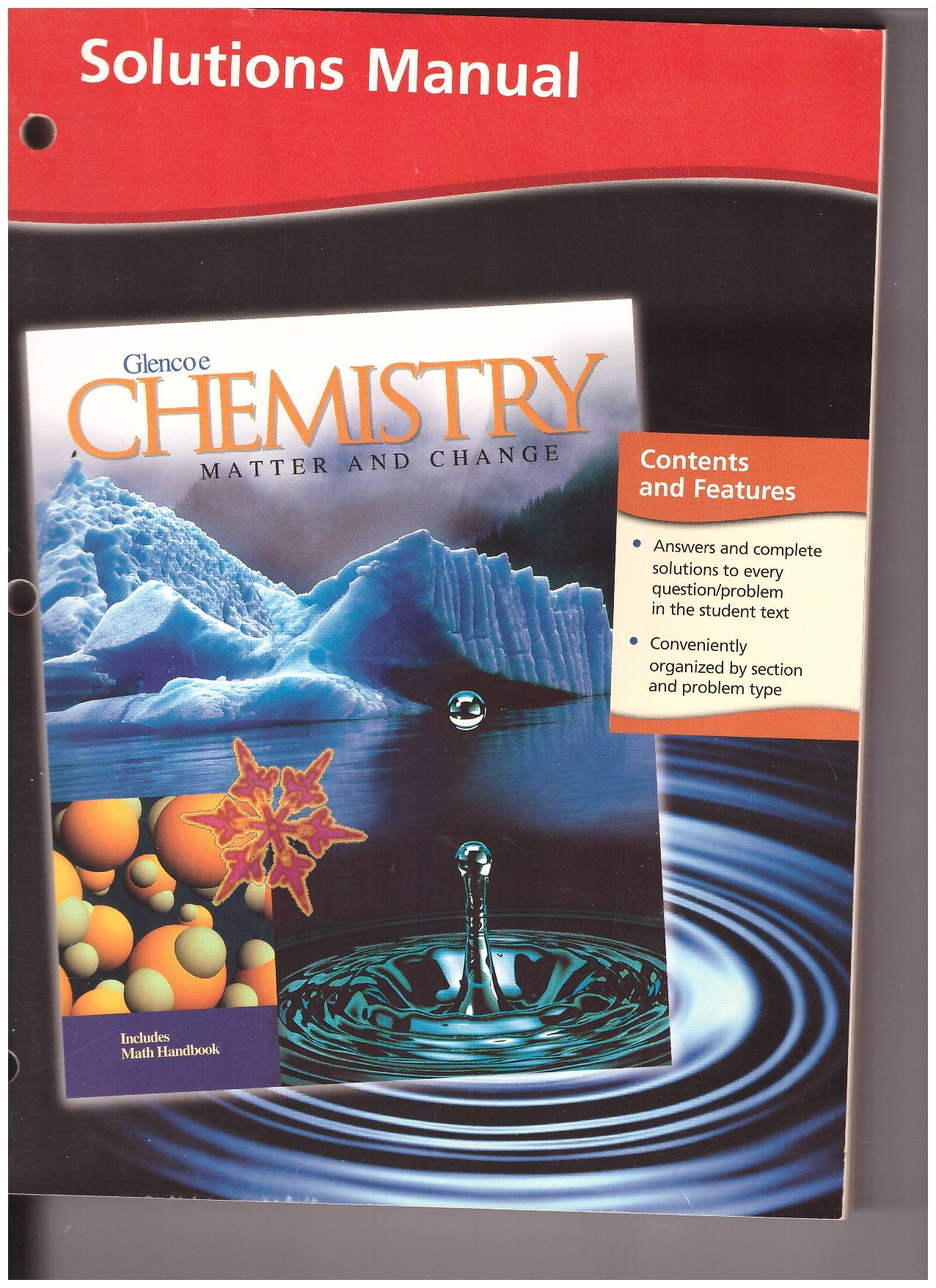 Chemistry : Matter and Change, Solutions Manual: McGraw-Hill:  9780078245374: Amazon.com: Books