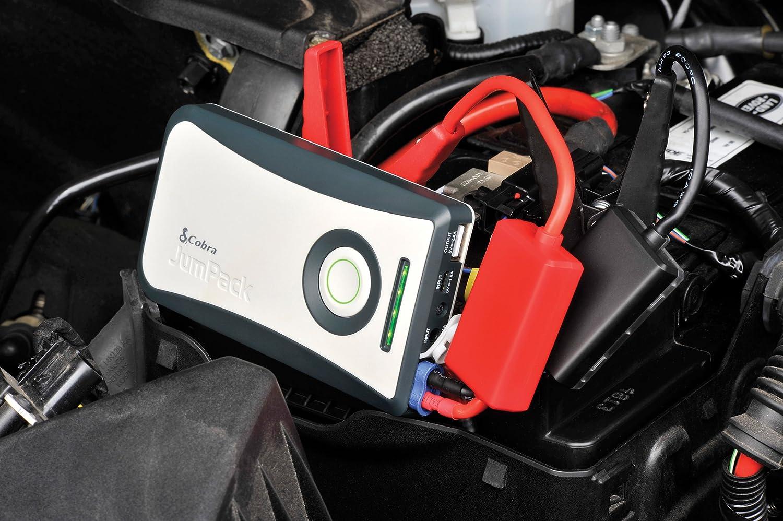Cobra JumPack Jump Starter Power Pack with 2.4 A USB