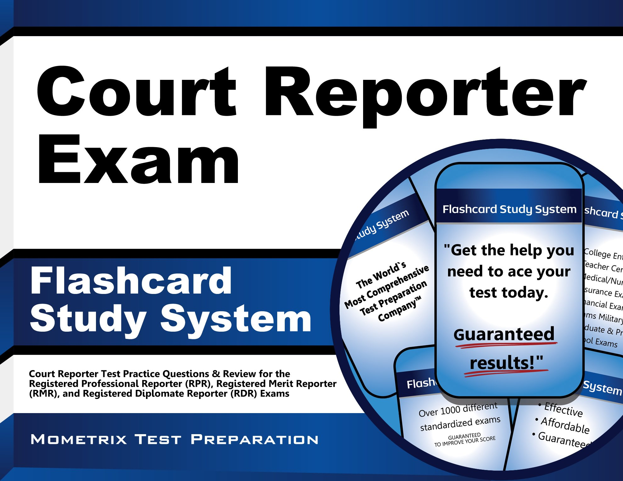 Court Reporter Exam Flashcard Study System Court Reporter Test