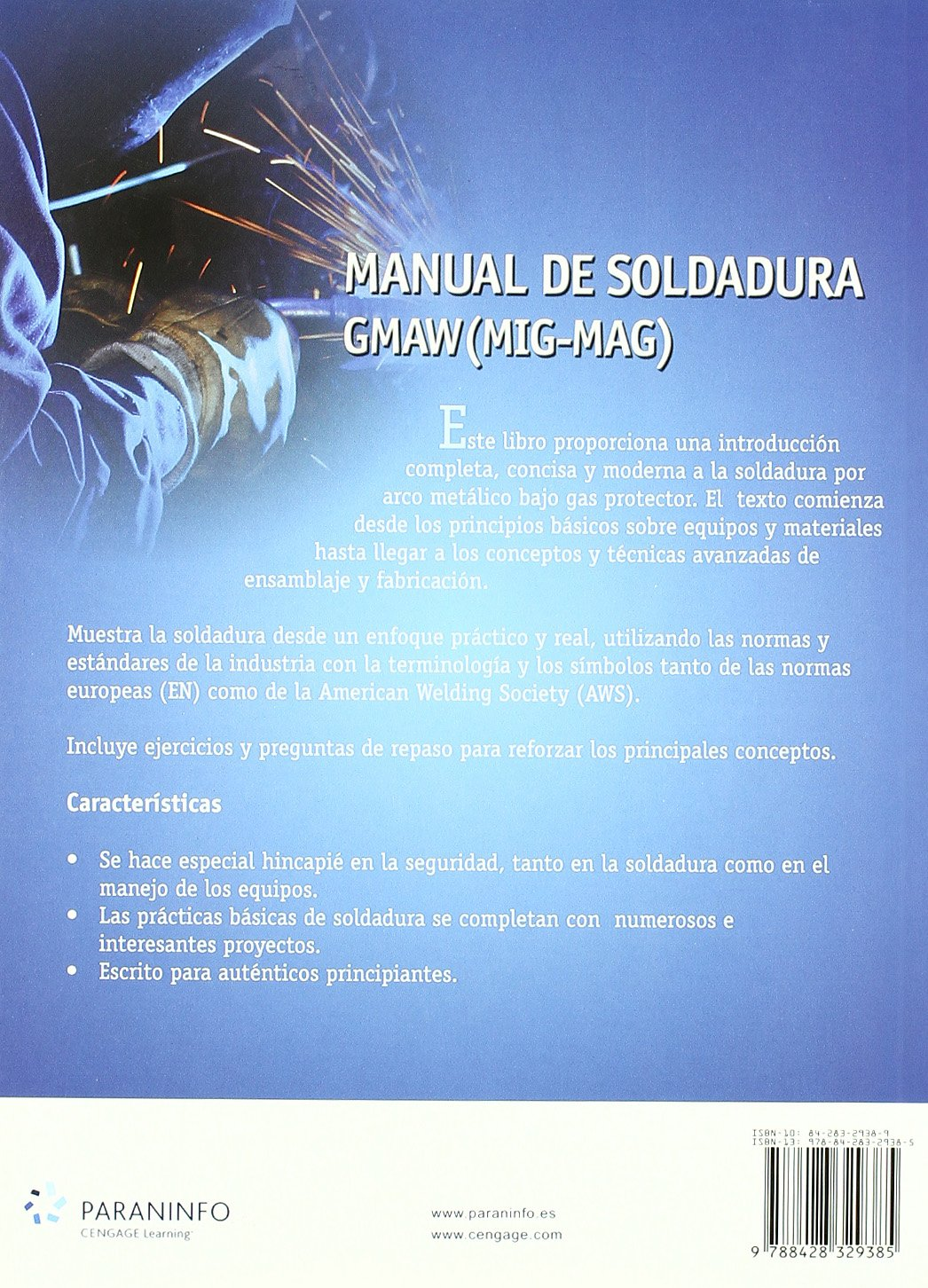 Manual de soldadura gmaw (MIG-MAG): Amazon.es: LARRY JEFFUS, RICHARD ROWE: Libros