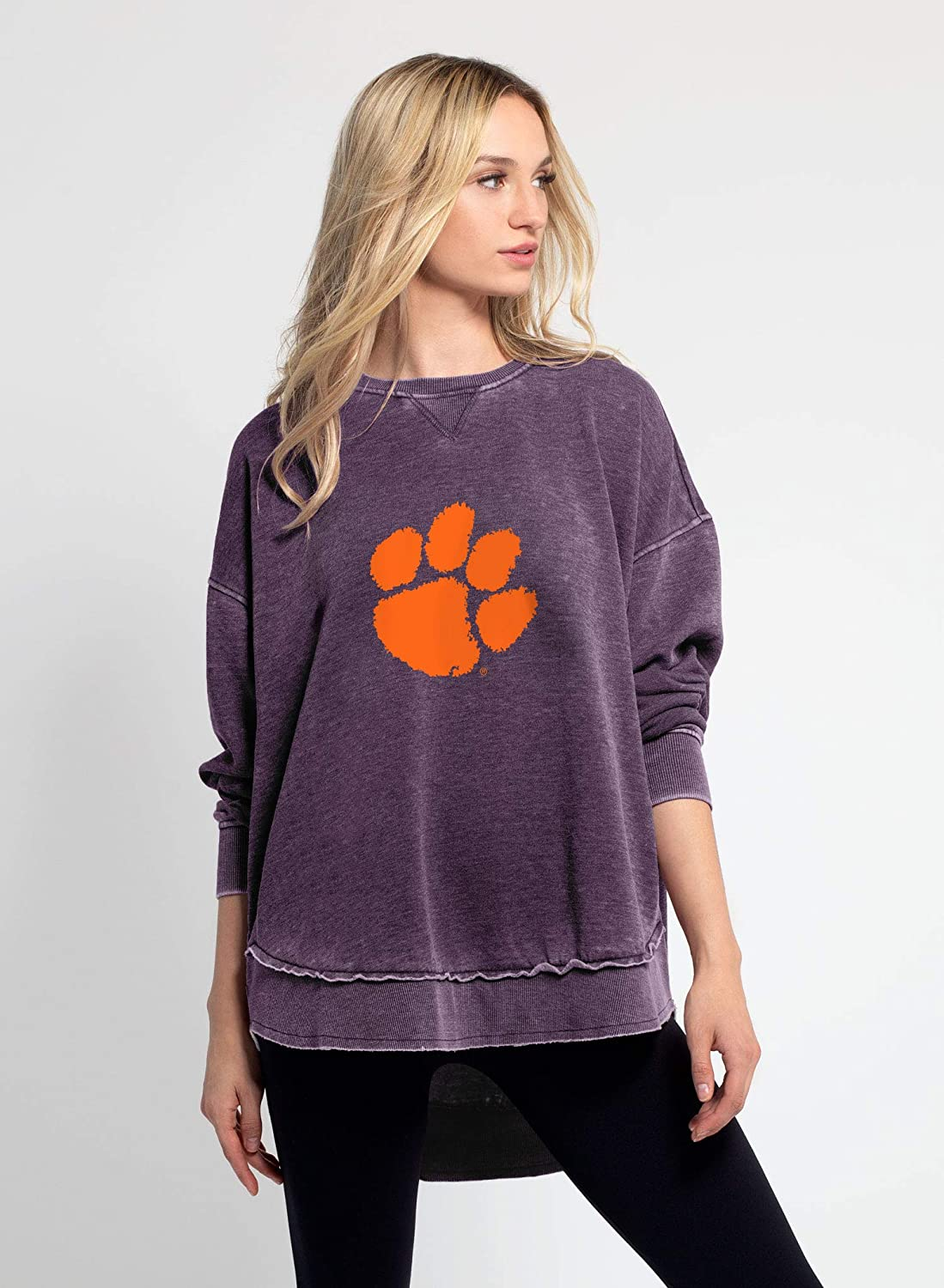 chicka-d NCAA womens Burnout Campus Pullover