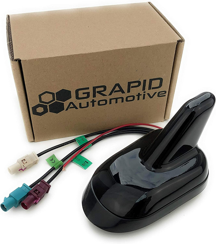 GRAPID Automotive® Antena de techo Shark (FM/AM, GPS, GSM)