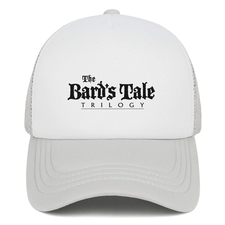 Bards Tale Mens Womens Mesh Ball Cap Adjustable Snapback Sun Hat
