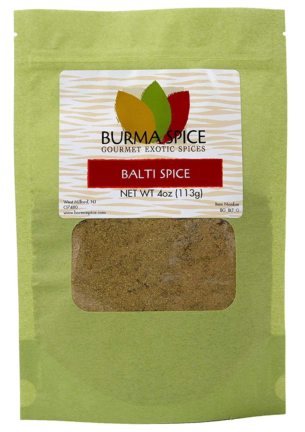 Balti Spice Blend : Used in Kashmiri Cuisine : 16 Spice Mix, Dry Herbs, No additives (4oz.)