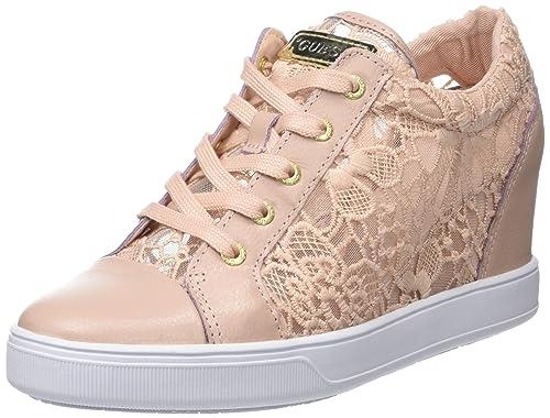 mejores ofertas en más cerca de sitio autorizado Guess Finna, Zapatillas de Tenis para Mujer, Rosa (Light ...