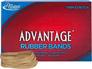 Alliance Advantage Rubber Band Size #64 (3 1/2 X 1/4 Inches), 1 Pound Box (Approximately 320 Bands per Pound) (26645)