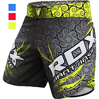 RDX MMA Shorts Martial Grappling Arts Training Cage Fighting Mens Gym Wear