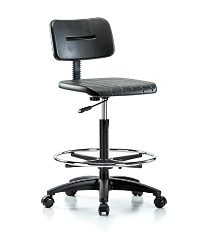 industrial office chair. Perch Industrial Work Chair With Footring 22\u0026quot; - 32\u0026quot; Office A