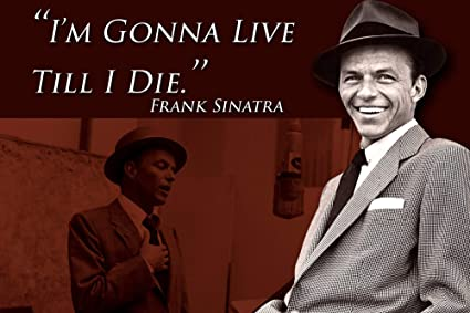 Amazoncom Frank Sinatra Quote Classroom Poster Rat Pack Growth