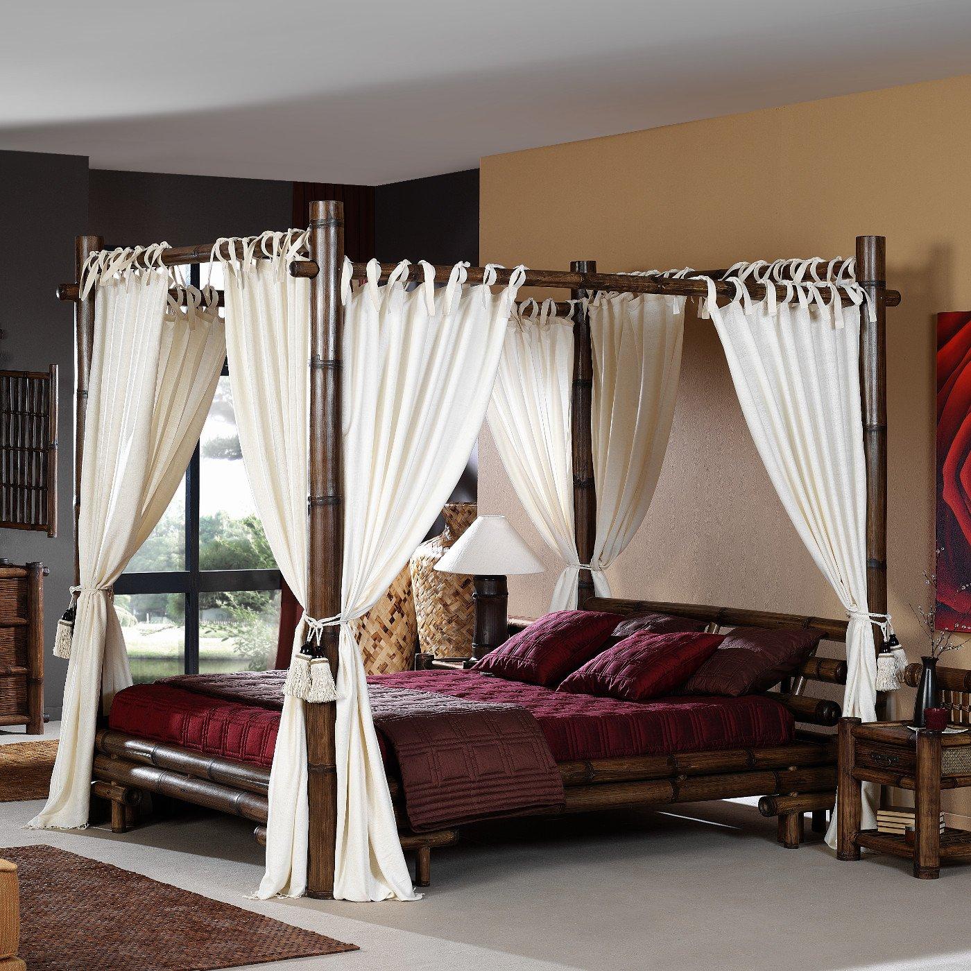 Schlafzimmer Gestalten Mit Bambusbett. Jugend Schlafzimmer