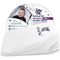 3-in-1 Universal Bassinet Wedge - Elevated Sleeping Pillow Helps Newborn Babies with Acid Reflux Congestion Colic…