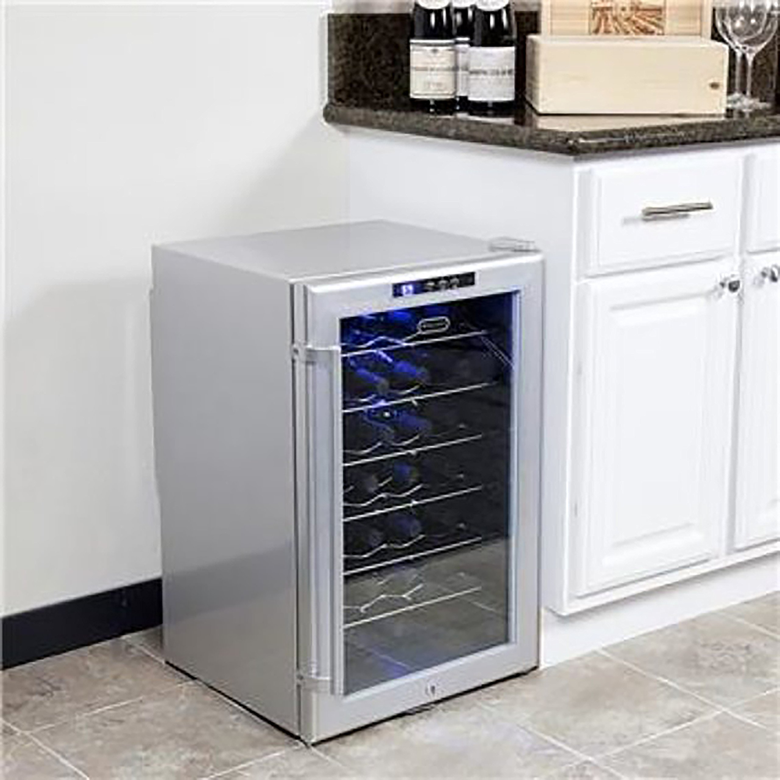 Whynter WC28S SNO 28 Bottle Wine Cooler, Platinum with Lock by Whynter (Image #10)