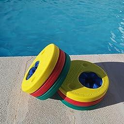 Delphin - Manguitos para aprender a nadar gradualmente, color rojo / amarillo / verde: Amazon.es: Deportes y aire libre