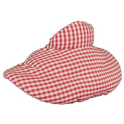 Cojín cervical de calor con cuello (algodón biológico rojo ...