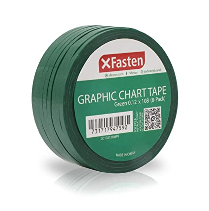 8444c1e55a5 Image Unavailable. Image not available for. Color  XFasten Thin Graphic  Chart Line Tape ...