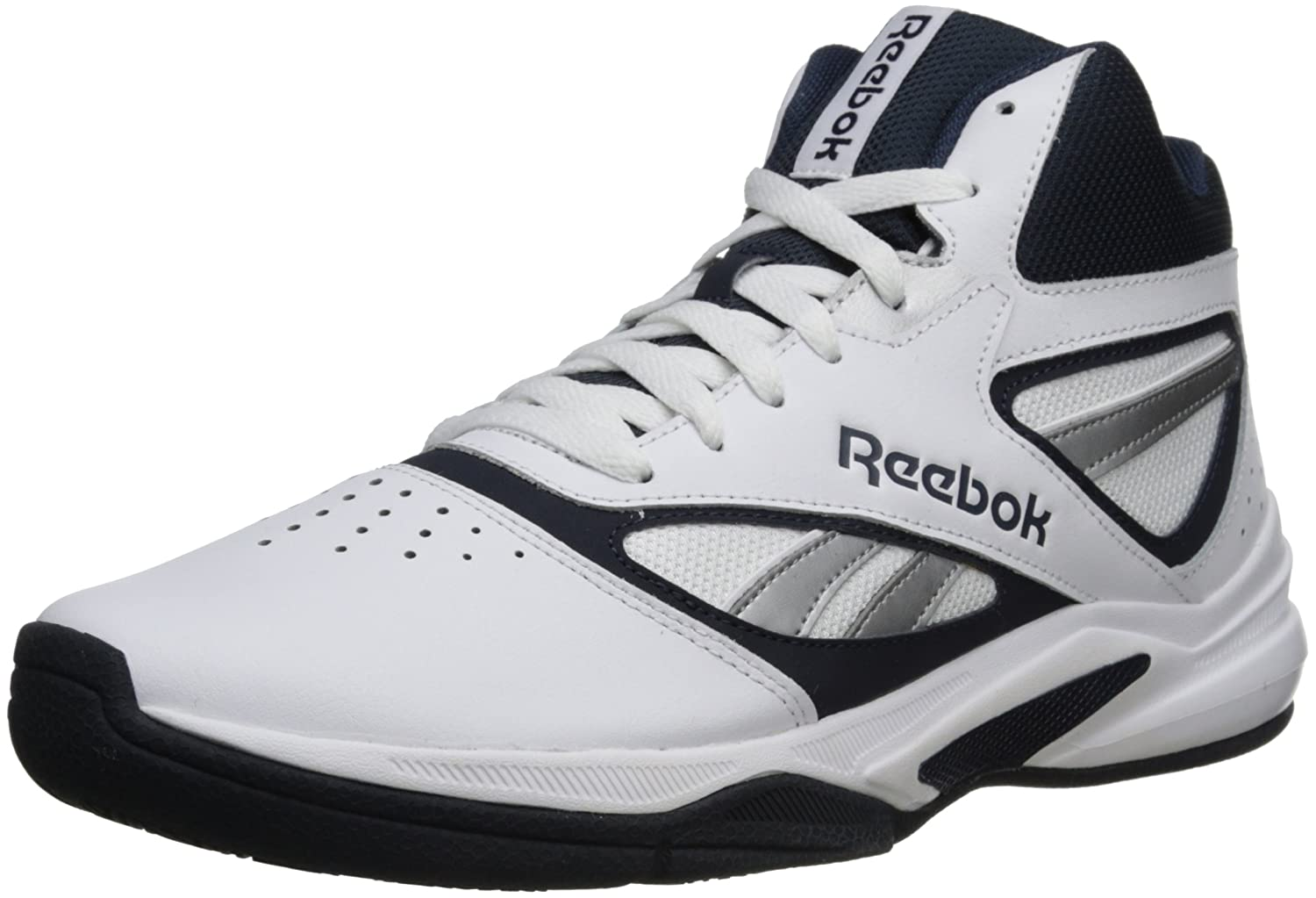 Reebok Men's Pro Heritage 1 Basketball Shoe, WhiteReebok