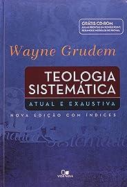 Teologia sistemática - (GRUDEM) - (Acompanha CD-ROM) - Capa dura