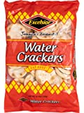 Excelsior Water Crackers, 10.57oz (Pack of 10) Fat Free, Genuine Jamaican Crackers, Breakfast Cereal and Healthy Snack