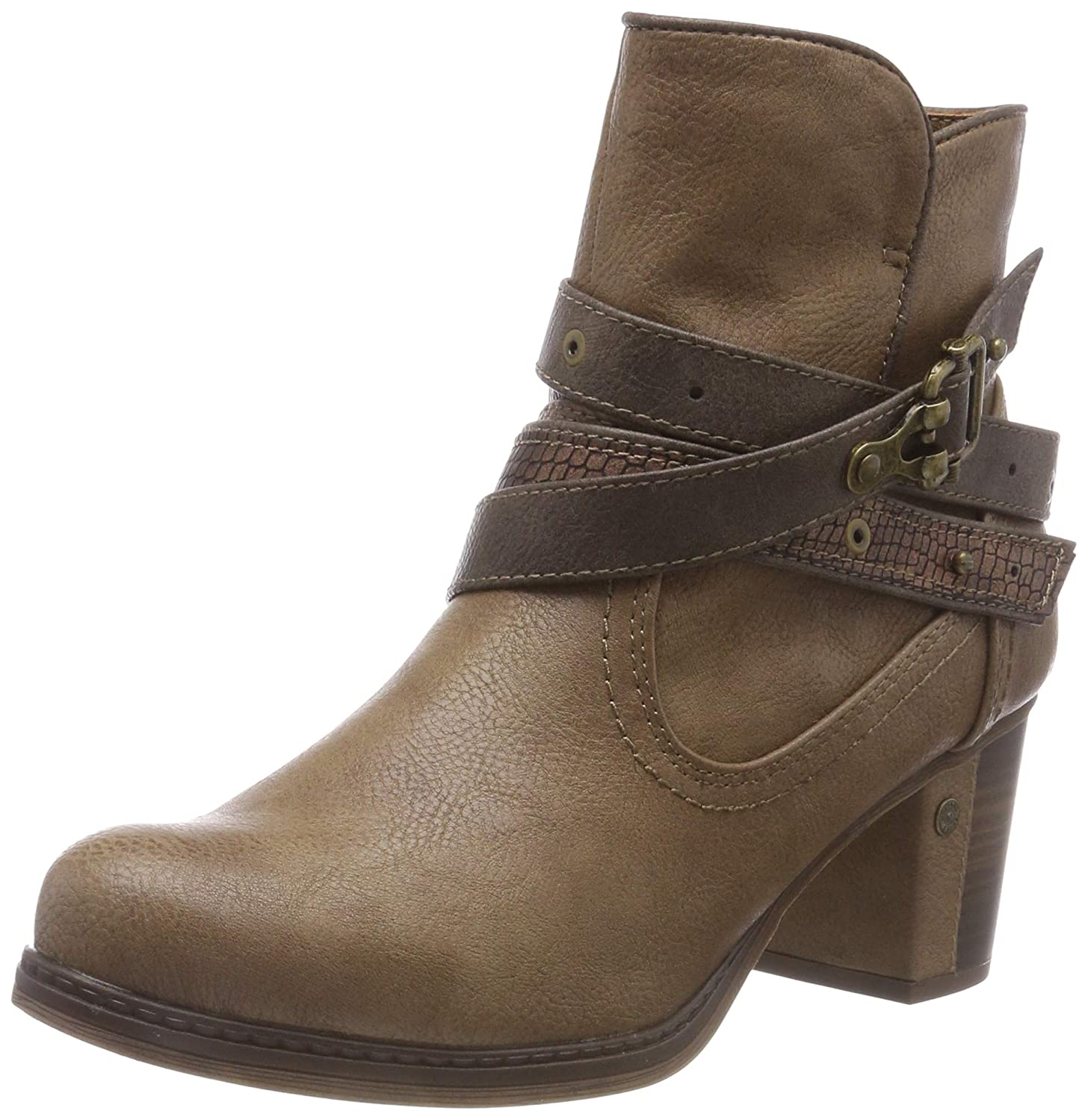 Mustang B07C86M6CY Stiefelette, Mustang Botines (Taupe Femme Marron (Taupe 318) 7307ba7 - reprogrammed.space