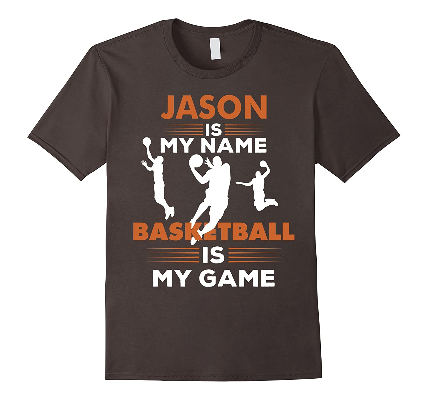Basketball T-Shirt Jason Name Tee Shirt Apparel Gift-FL