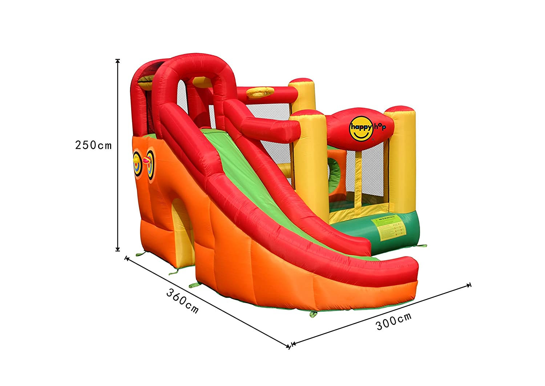 Castillo inflable 10 en 1 - - - 9106 Happy Hop e716a9