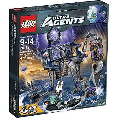 LEGO 70172 Ultra Agents AntiMatter's Portal Hideout: Toys & Games